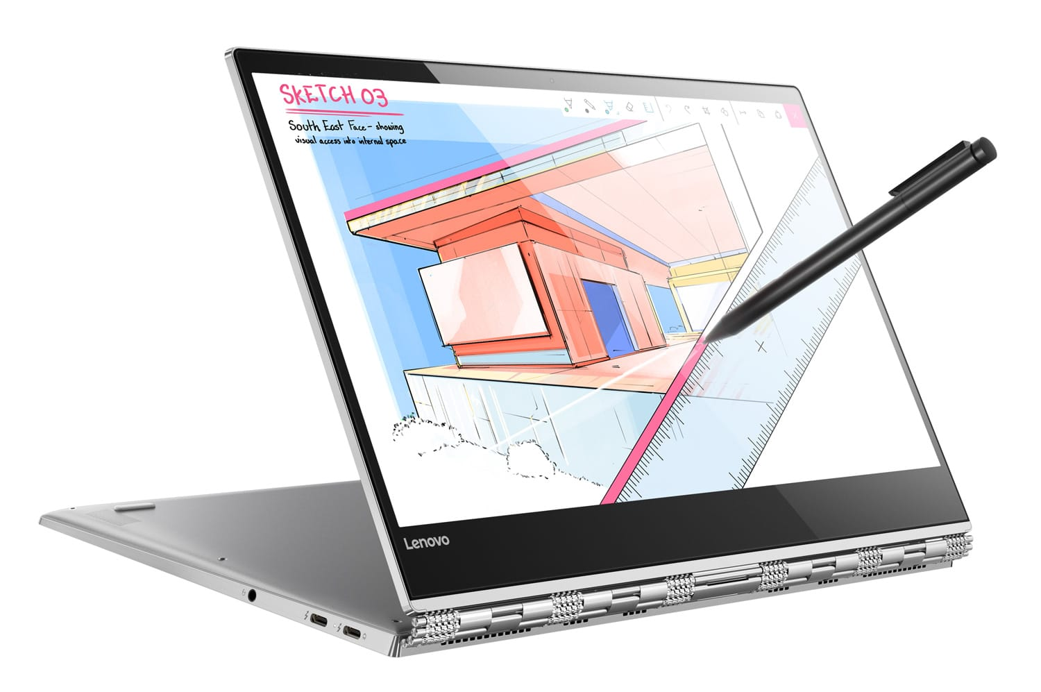 "Lenovo Yoga 920-13IKB, Ultrabook 13"" IPS/Tablette SSD 512 Quad i7 1660€"