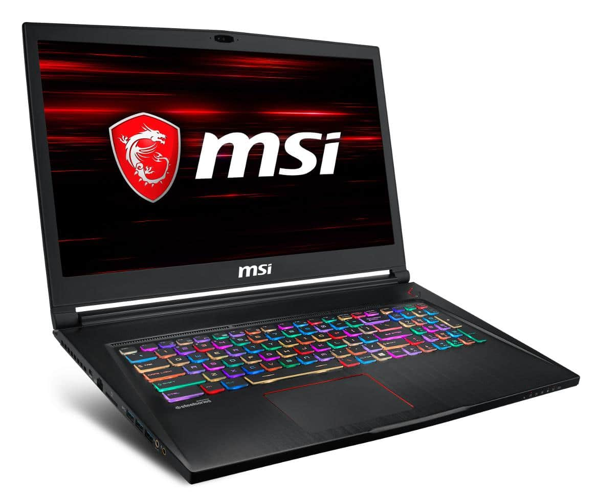"MSI GS73 8RE-026, Ultrabook 17"" 120Hz Coffee Lake GTX 1060 SSD (1681€)"