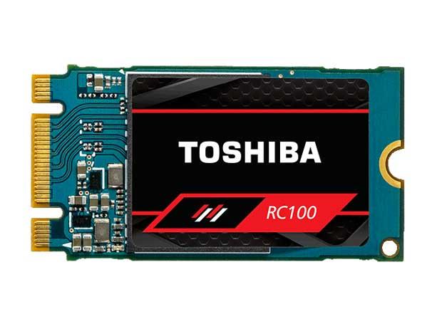 Toshiba OCZ RC100, nouveaux SSD M.2 NVMe PCIe