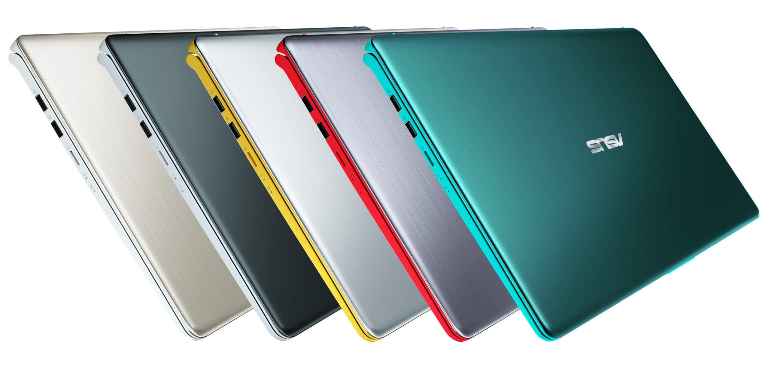 """<span class=""""tagtitre"""">Computex 2018 - </span>Asus VivoBook S, ultrabook 14"""" et 15"""" aux coloris pop"""