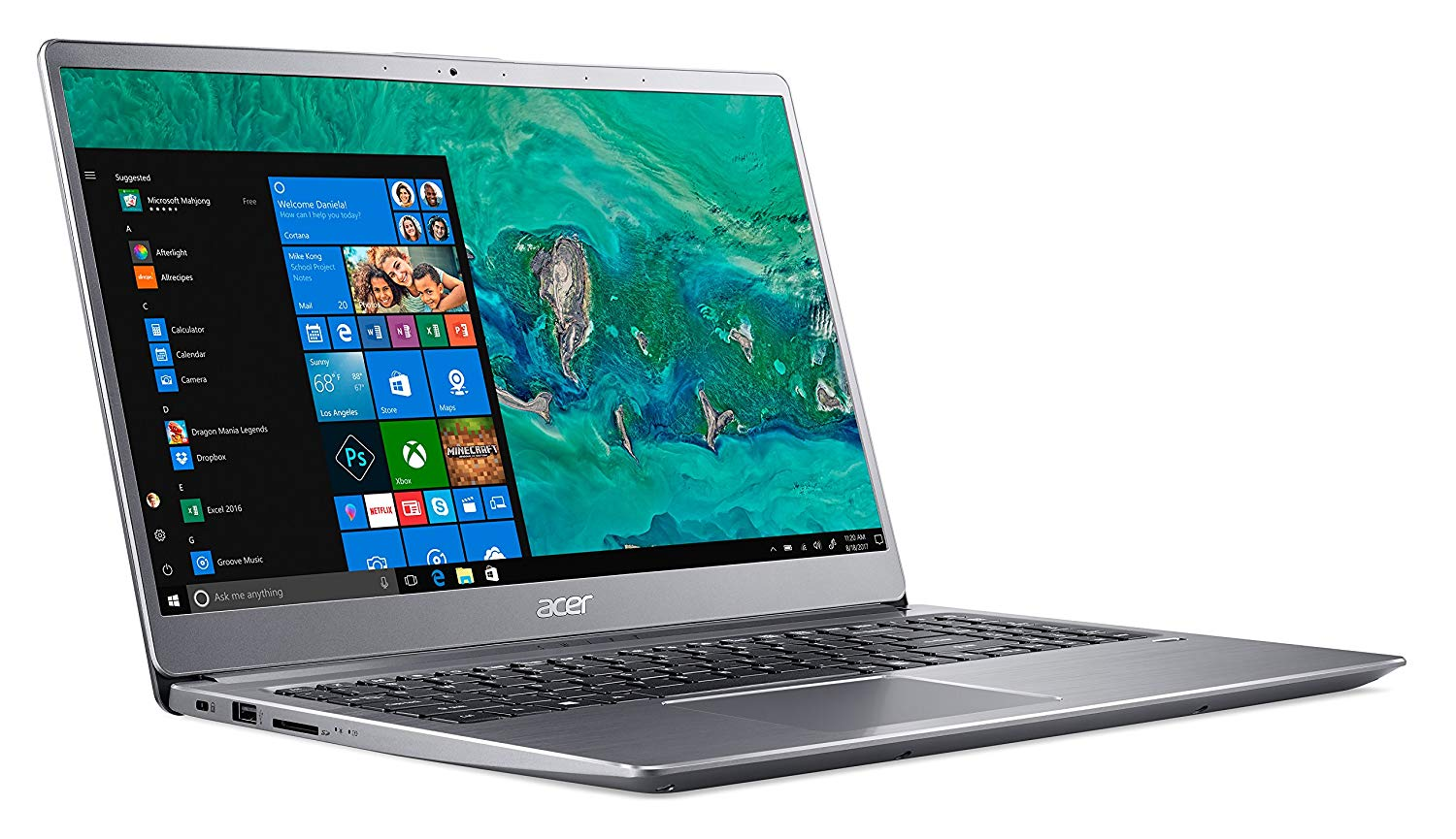 Acer Swift 3 SF315-52-369K, ultrabook 15 pouces Full IPS i3 Kaby SSD à 529€