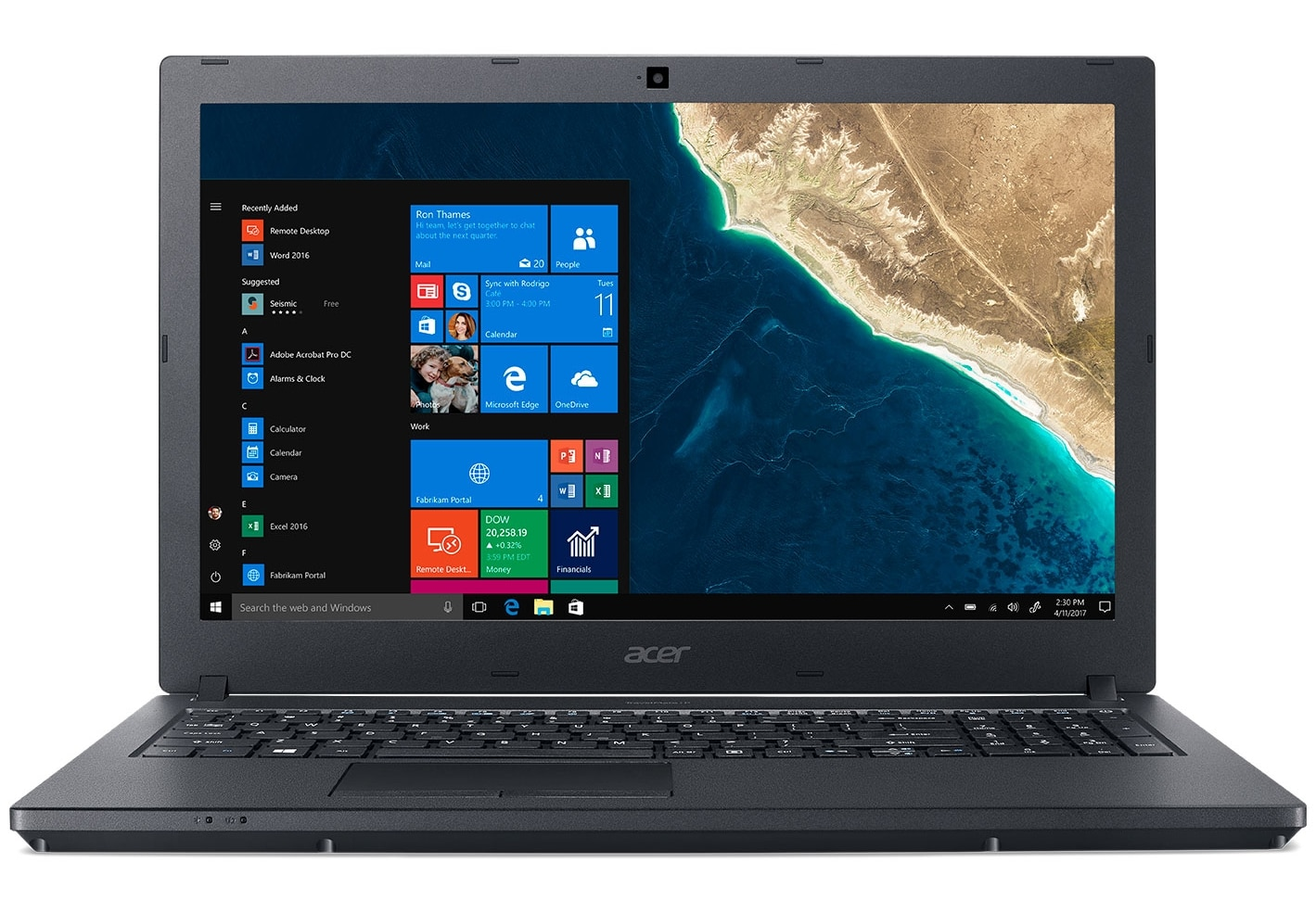 "Acer TravelMate P2510-M-53VP à 849€, PC portable 15"" IPS SSD 256 i5 Pro"