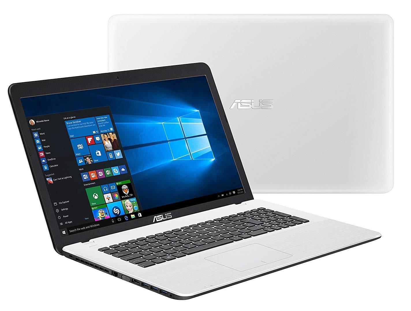 Asus F751NA-TY018T, PC portable 17 pouces Blanc bureautique Apollo Lake à 357€