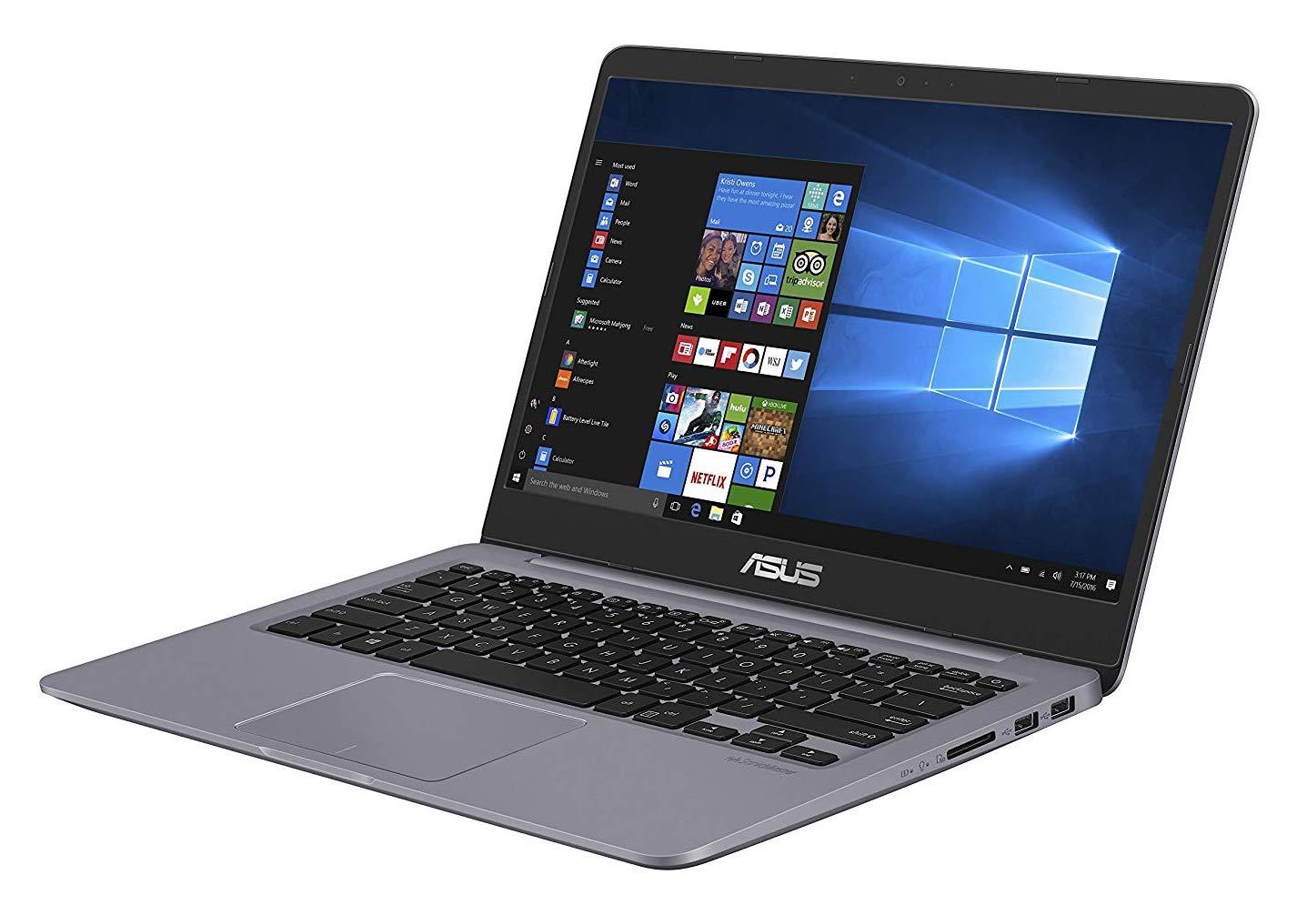 Asus Vivobook S401UA-BV664T, ultrabook 14 pouces SSD 256 Go (469€)