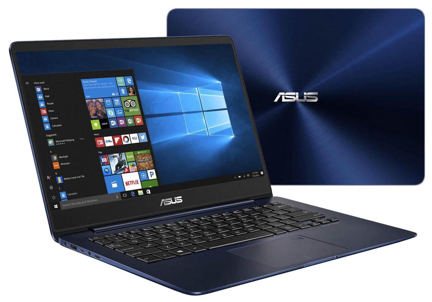 Asus Zenbook UX430UA-GV509T, ultrabook 14 pouces fin 16 Go Kaby SSD à 949€