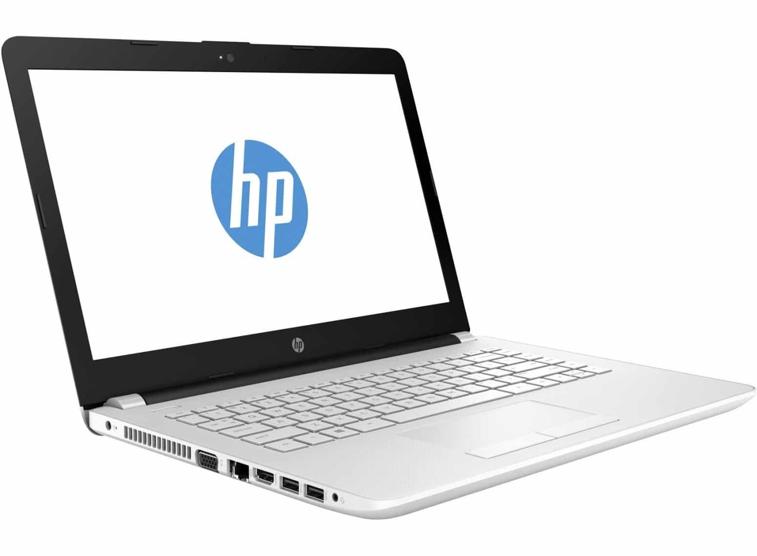 HP 14-bw018nf, PC portable 14 pouces Blanc bureautique 6 Go à 449€