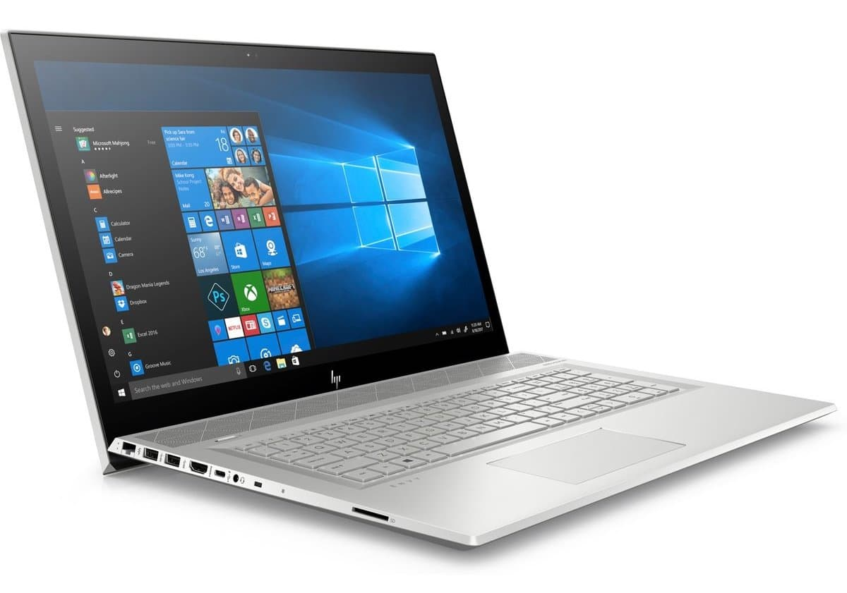 "HP Envy 17-bw0010nf, PC portable 17"" Tactile SSD512 i7 MX150 à 1424€"