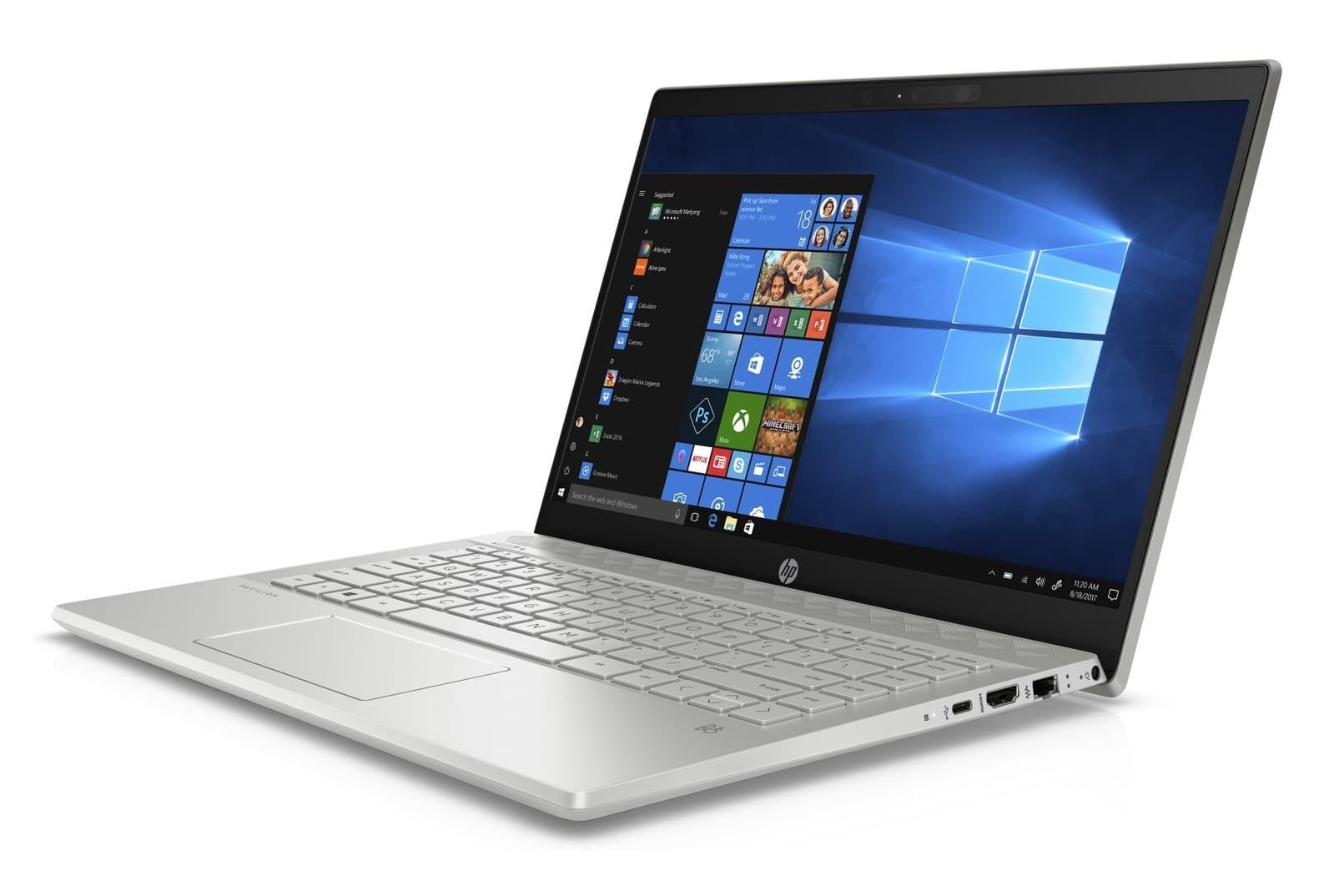 "HP Pavilion 14-ce0006nf, ultrabook 14"" Full IPS Quad i7 MX150 SSD256 promo 989€"