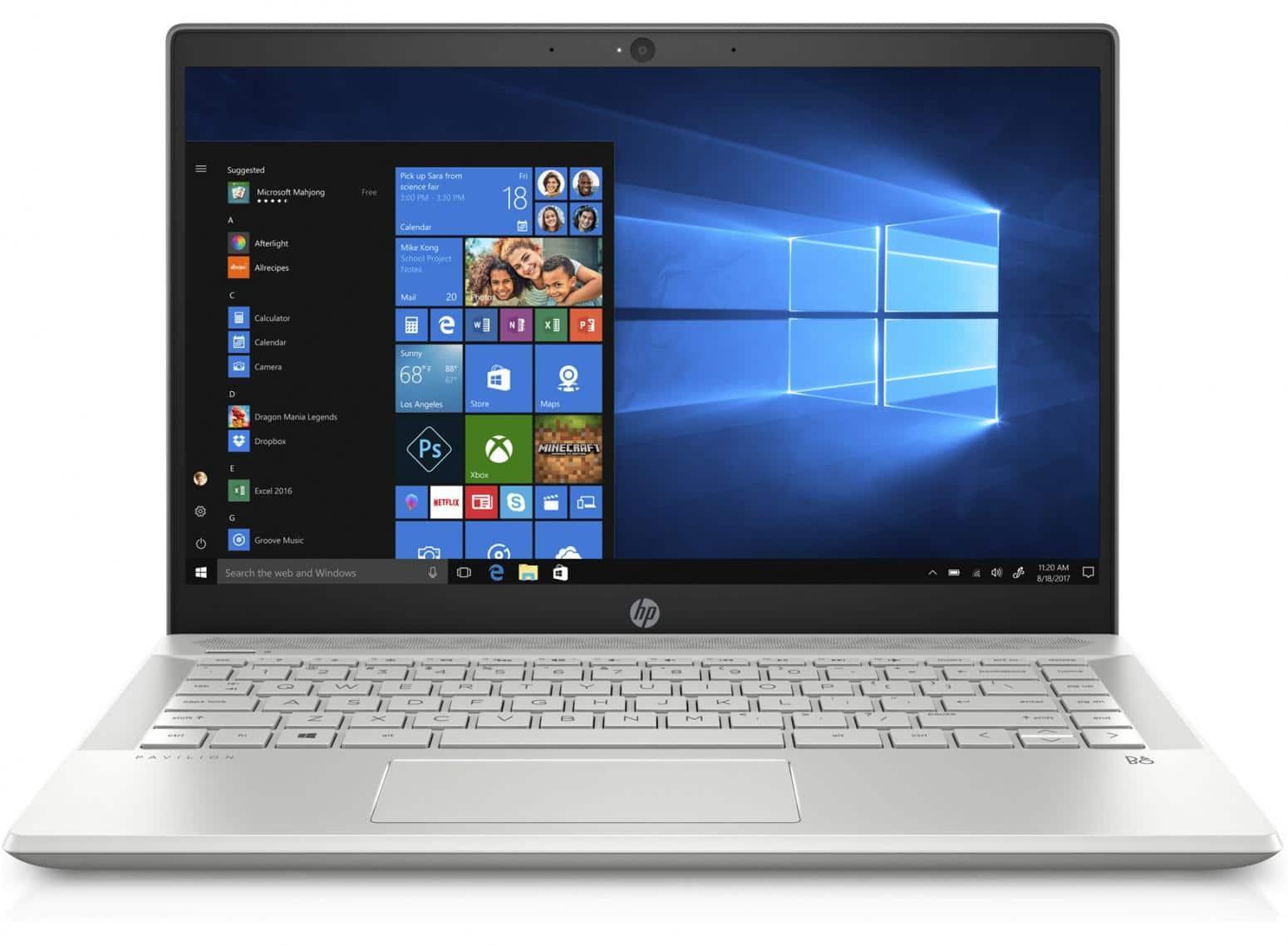 "HP Pavilion 14-ce0002nf, ultrabook 14"" Full IPS Quad i5 MX130 SSD pack 799€"