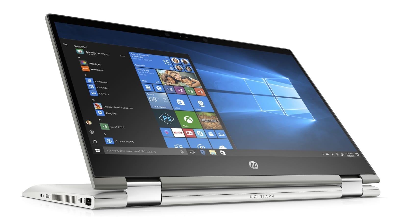 "HP Pavilion x360 14-cd0026nf, ultrabook 14"" Tablette SSD512 MX130 i5 à 949€"
