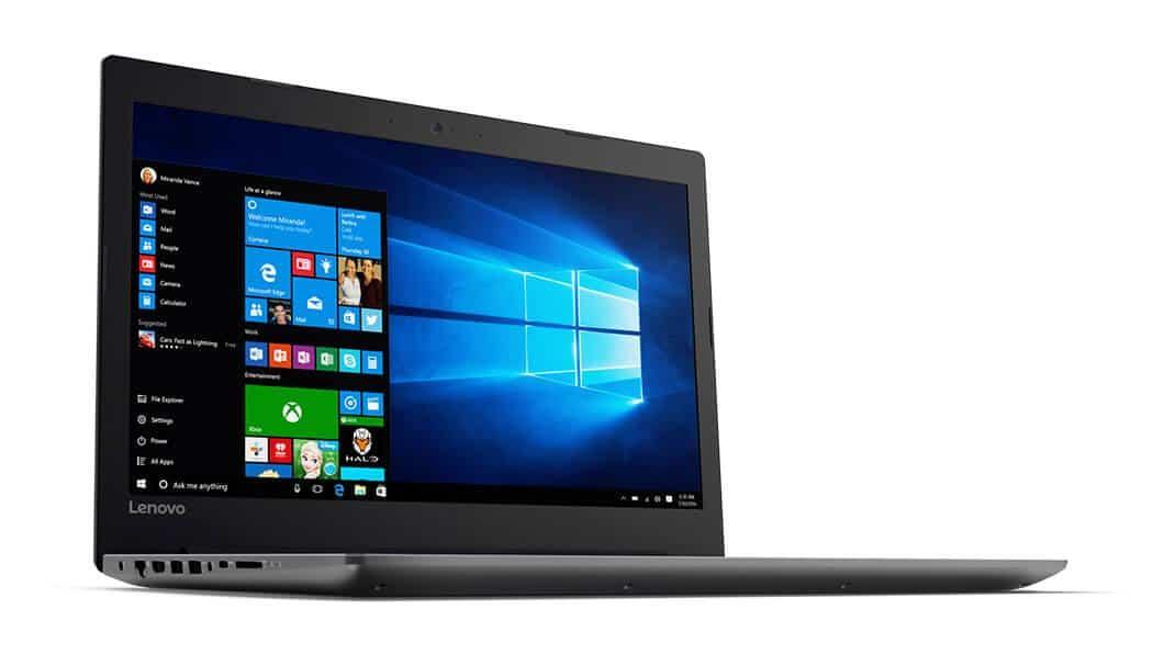 "Lenovo Ideapad 320-15AST, PC portable 15"" bureautique SSD+HDD Stoney à 449€"