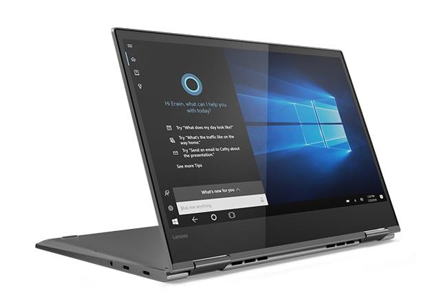 Lenovo Yoga 730-13IKBR, 13 pouces Tablette léger TB3 (1029€)