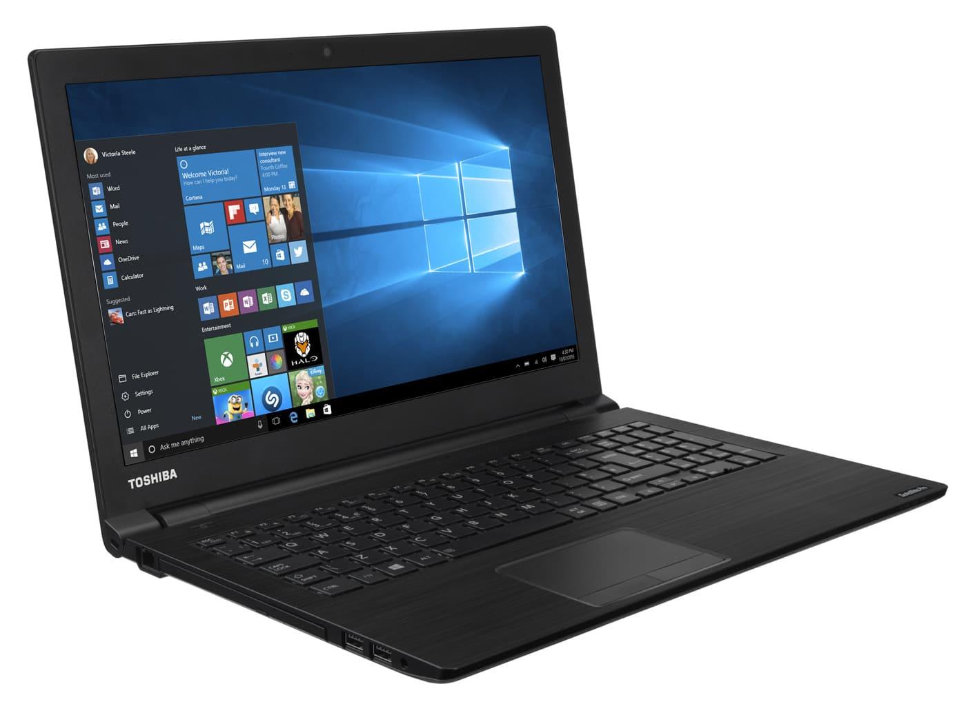 "Toshiba Satellite Pro R50-C-14F à 299€, PC portable 15"" mat pas cher"