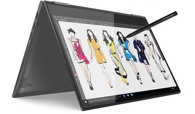 "Lenovo Yoga 730-15IKBR, ultrabook 15"" Tablette GTX 1050 IPS Quad i5 SSD 1199€"