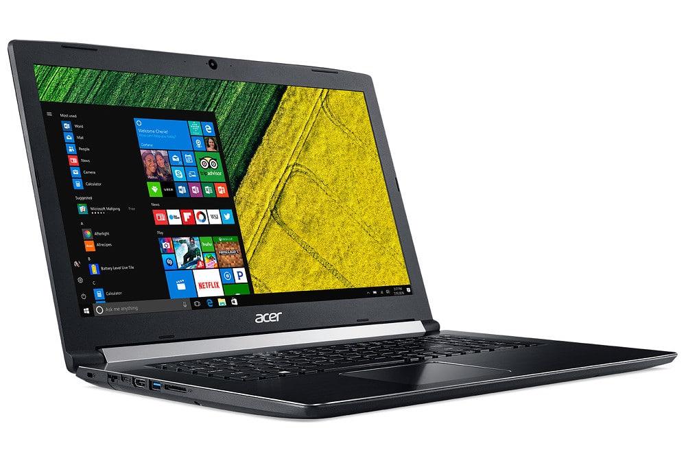 "Acer Aspire A517-51G-522G, PC portable 17"" Full IPS Quad i5 MX150 SSD à 849€"