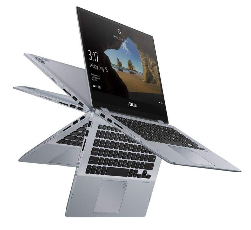 "Asus VivoBook Flip TP412UA-EC072T, ultrabook 14"" Tablette IPS Quad SSD256 649€"