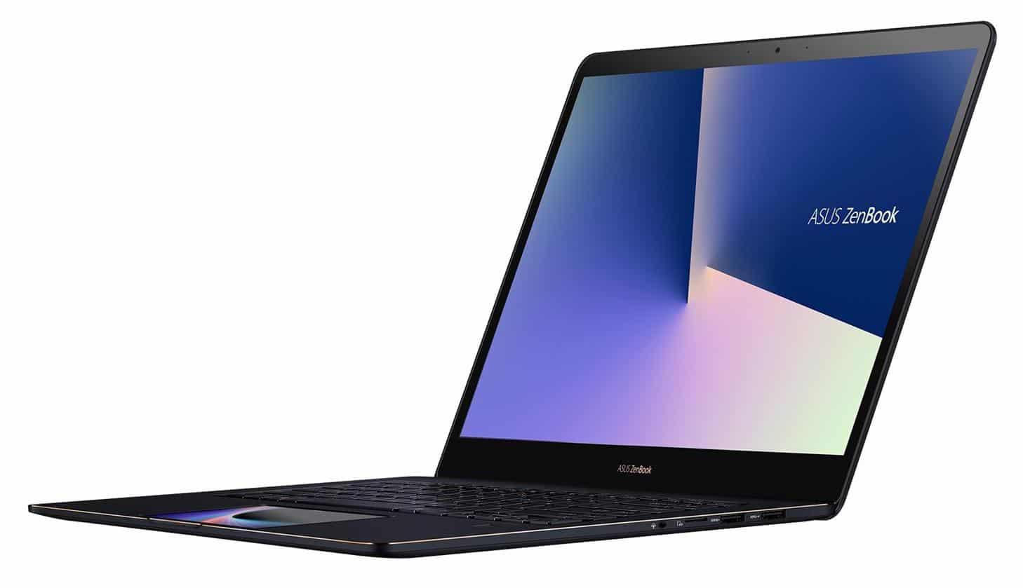 """Asus UX580GD-BN025T, ultrabook 15"""" Hexa i7 ScreenPad (1119€)"""