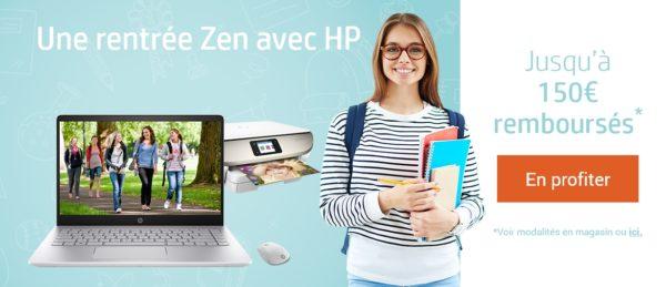 HP promo une rentrée zen 2018 1