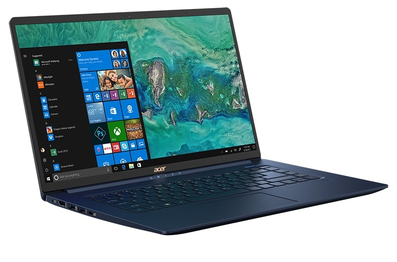 "<span class=""tagtitre"">IFA 2018 - </span>Acer Swift 5, nouvel Ultrabook 15"" Whiskey Lake de 990 grammes !"