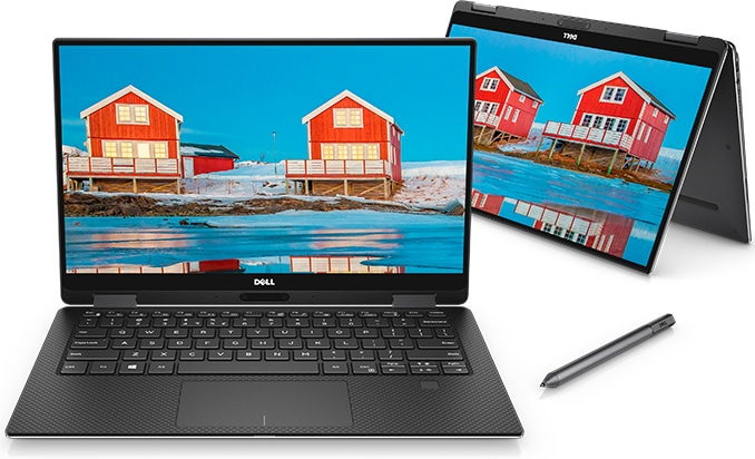 "<span class=""tagtitre"">IFA 2018 - </span>Dell XPS 13 2-en-1 convertible Tablette avec Amber Lake"