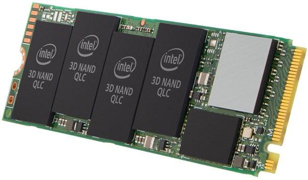 Intel 660p, nouveau SSD M.2 NVMe à mémoire QLC