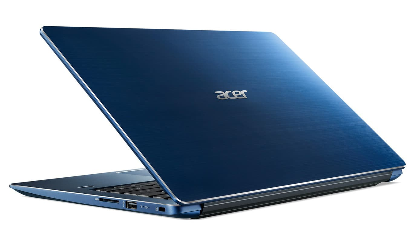 Acer Swift 3 SF314-54-34F8, ultrabook 14 pouces Bleu Full IPS SSD256 i3 (440€)