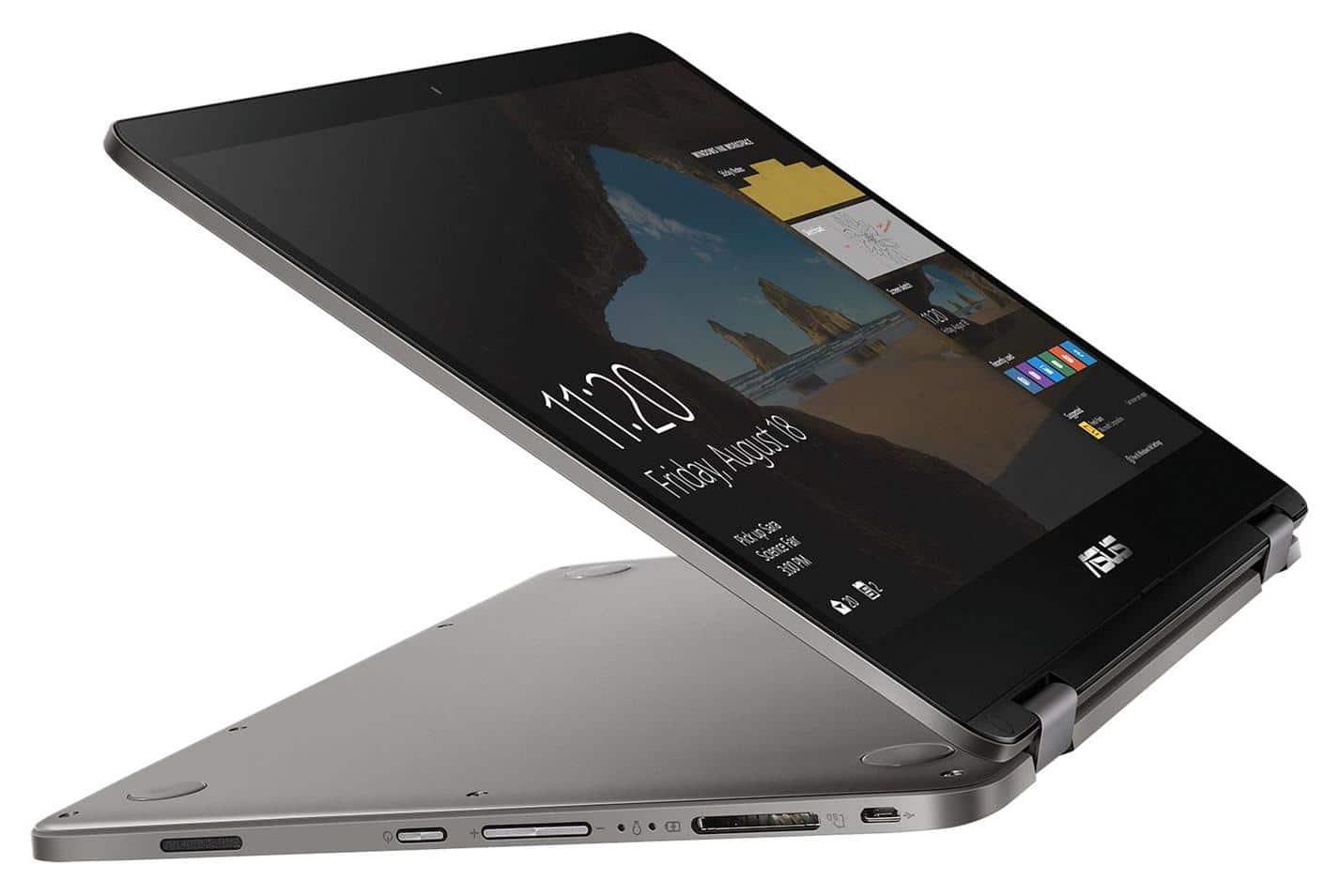 "Asus VivoBook Flip TP401MA-BZ024T, ultrabook 14"" Tablette Gemini (332€)"
