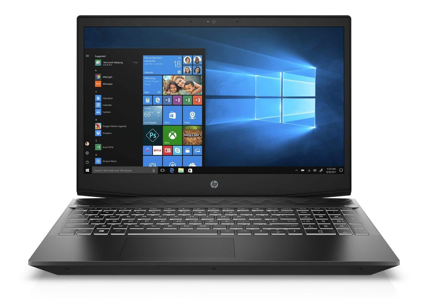 "HP Gaming Pavilion 15-cx0998nf, PC 15"" Full IPS GTX 1050 i5 Refresh SSD à 723€"