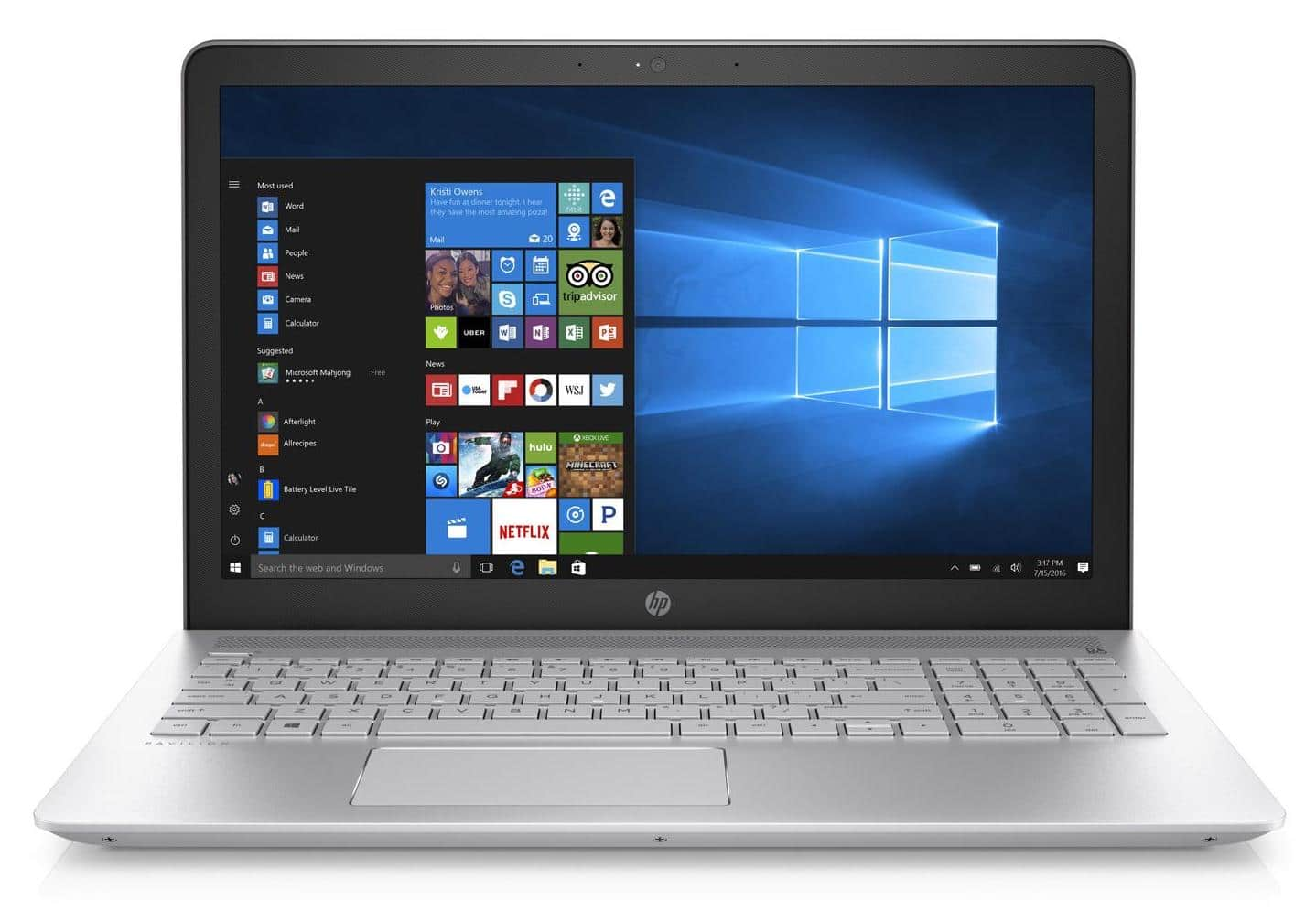 HP Pavilion 15-cc520nf, ultrabook 15 pouces SSD512 Full i7 940MX à 749€