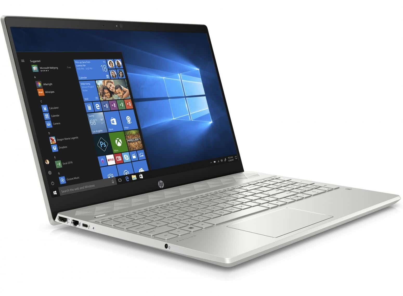 HP Pavilion 15-cs0011nf, ultrabook 16 Go RAM Full HD IPS (799€)