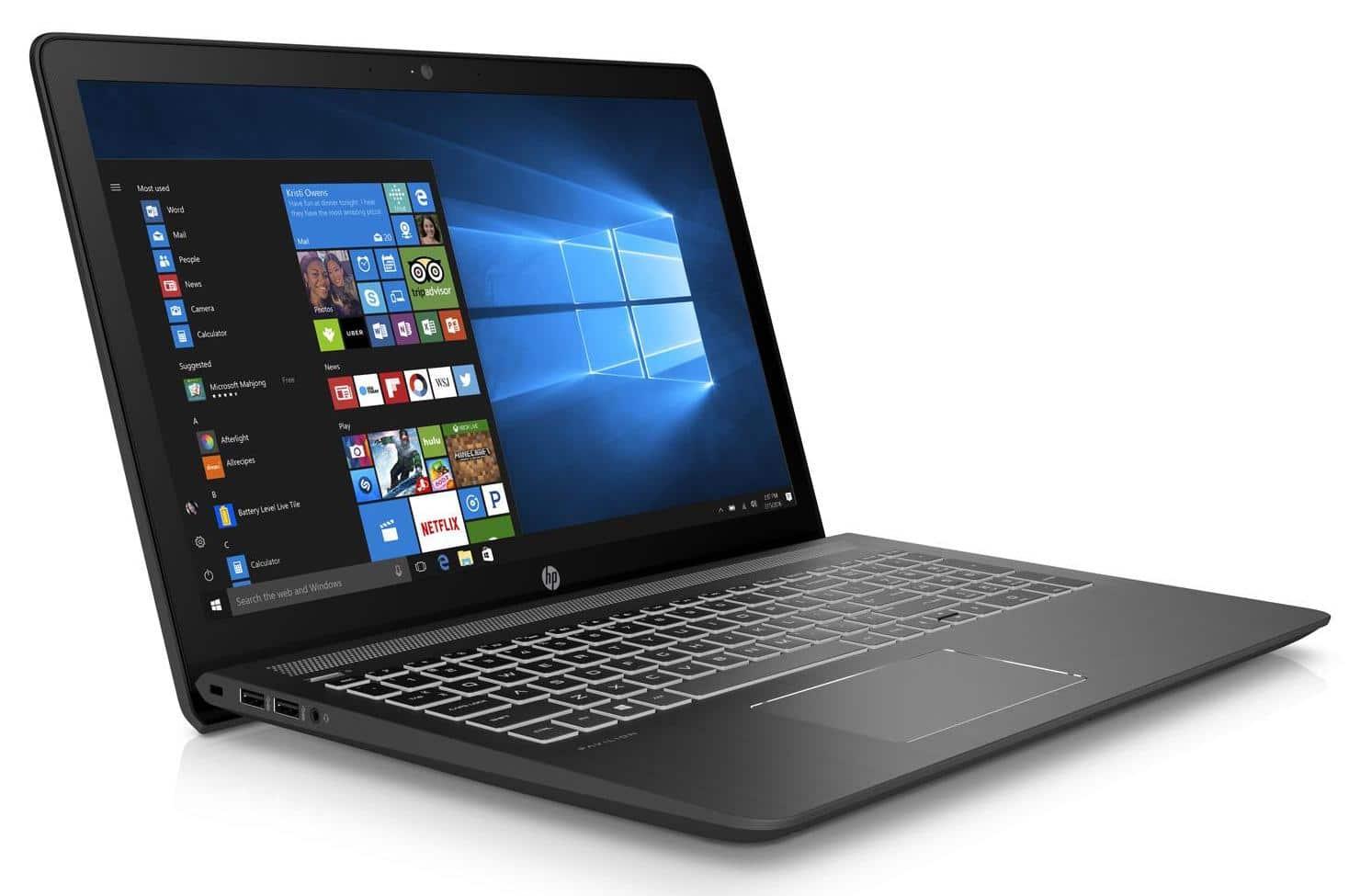 HP Pavilion Power 15-cb042nf, PC 15 pouces IPS Quad i7 Kaby GTX SSD à 749€