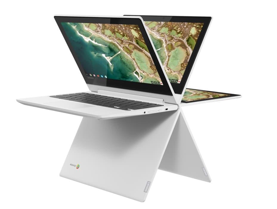"""<span class=""""tagtitre"""">IFA 2018 - </span>nouveaux Chromebooks Lenovo C330 et S330 dès 250 dollars"""