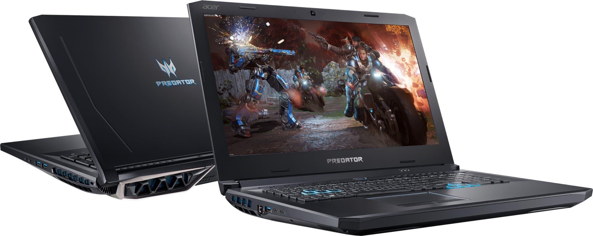 Revue de presse des tests publiés sur le Web (Acer Predator Helios 500 PH517-51)