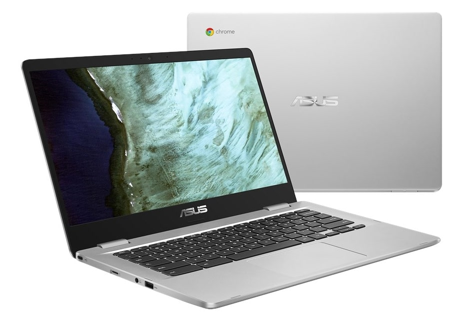 "Asus Chromebook C423, PC portable 14"" Full HD mat Apollo Lake 10h"