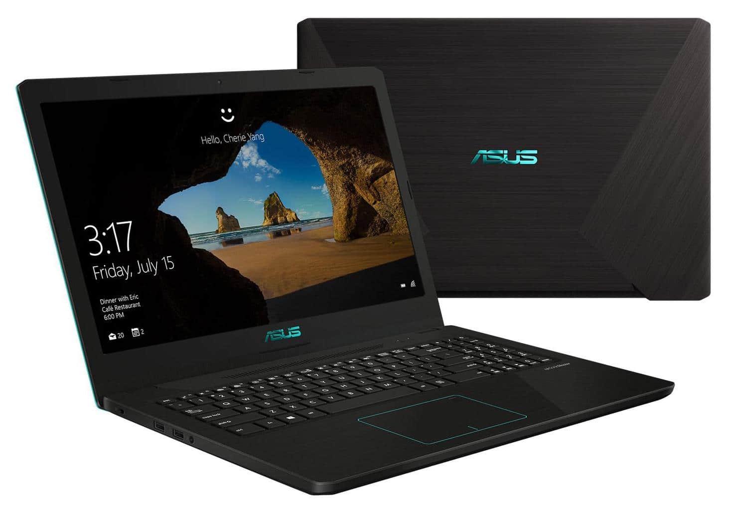 "Asus FX570ZD-DM124T, PC portable 15"" Full Ryzen 7 GTX 1050 SSD (630€)"