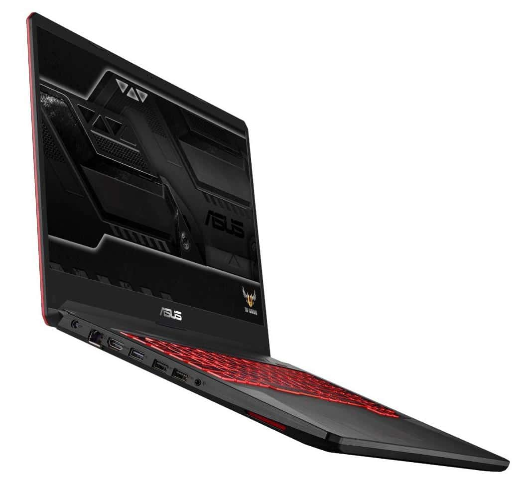 Asus TUF 705GD-EW082T, PC 17 pouces Full IPS Hexa i7 SSD GTX 1050 à 1170€
