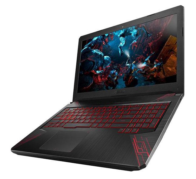 "Asus FX504GD-E4623T, PC portable 15"" Full IPS Hexa i7 SSD GTX (959€)"