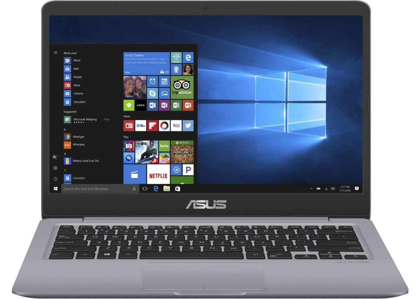 Asus VivoBook S401UA-BV810T, ultrabook 14 pouces SSD 128 Go Core i3 à 399€
