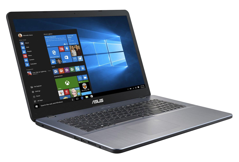 """Asus X705UA-BX402T à 589€, PC portable 17"""" mat SSD 256 Go i3 argent"""