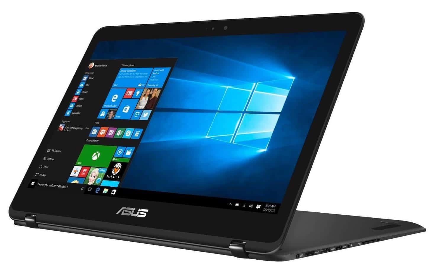 "Asus ZenBook Flip UX360UAK-DQ276T, ultrabook 13"" Tab QHD SSD512 à 1049€"