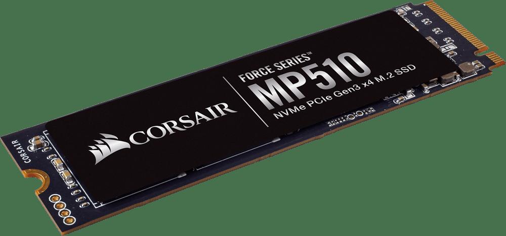 Corsair Force Series MP510, nouveau SSD M.2 NVMe jusqu'à 2 To