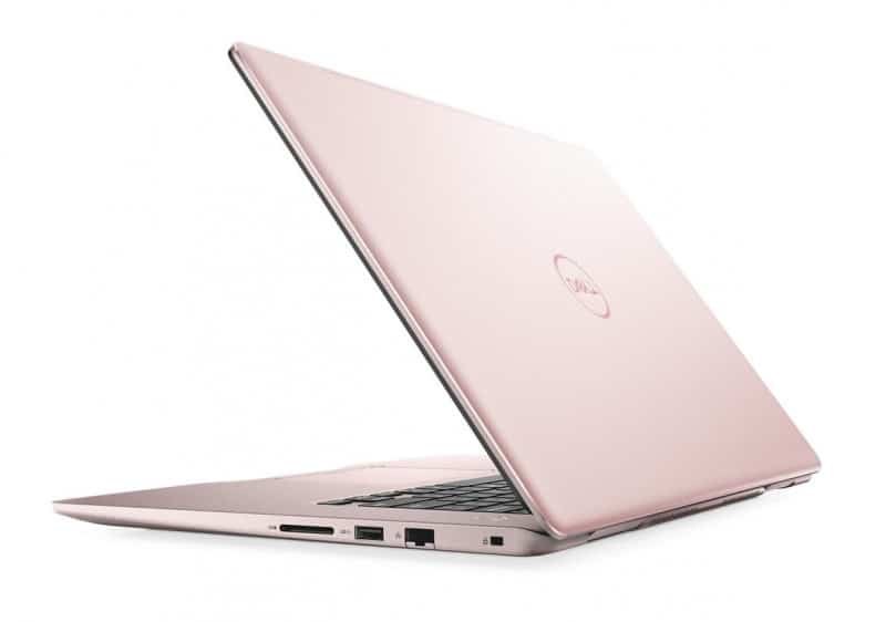 "Dell Inspiron 15 7570, Ultrabook 15"" IPS Quad i5 SSD 256 MX130 rose 799€"