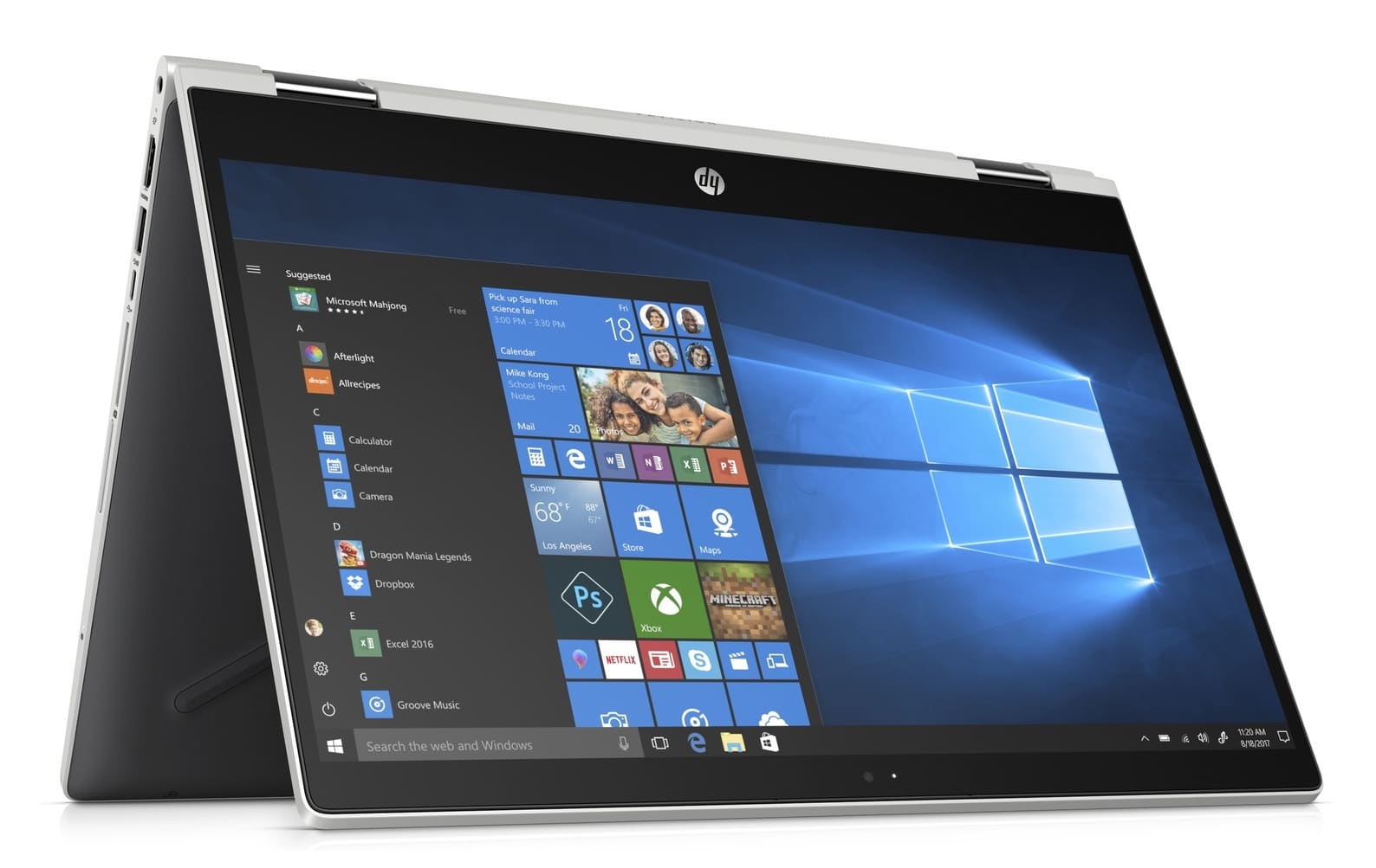 HP Pavilion x360 14-cd0023nf, convertible Tablette (516€)