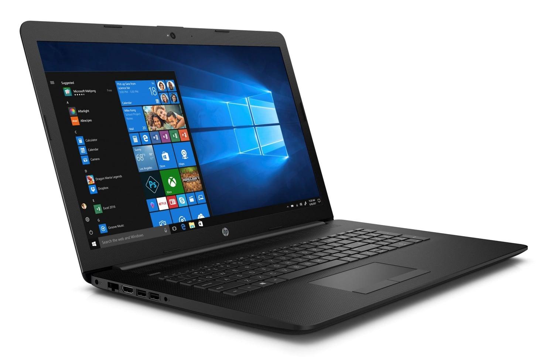 "HP 17-by0002nf à 399€, PC portable 17"" mat pas cher Gemini Lake noir"