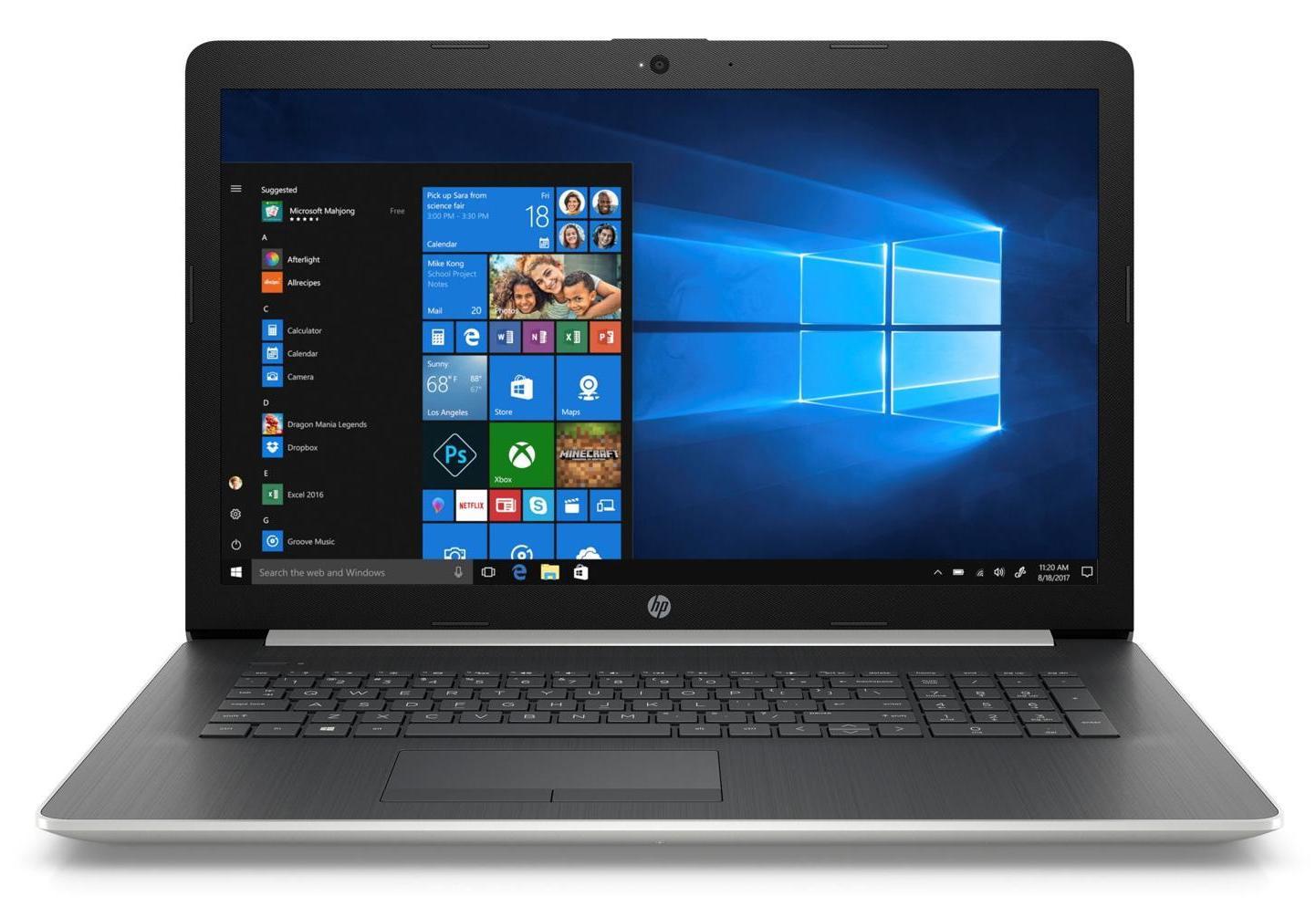 HP 17-by0006nf, PC portable 17 pouces bureautique Core i3 1 To à 409€