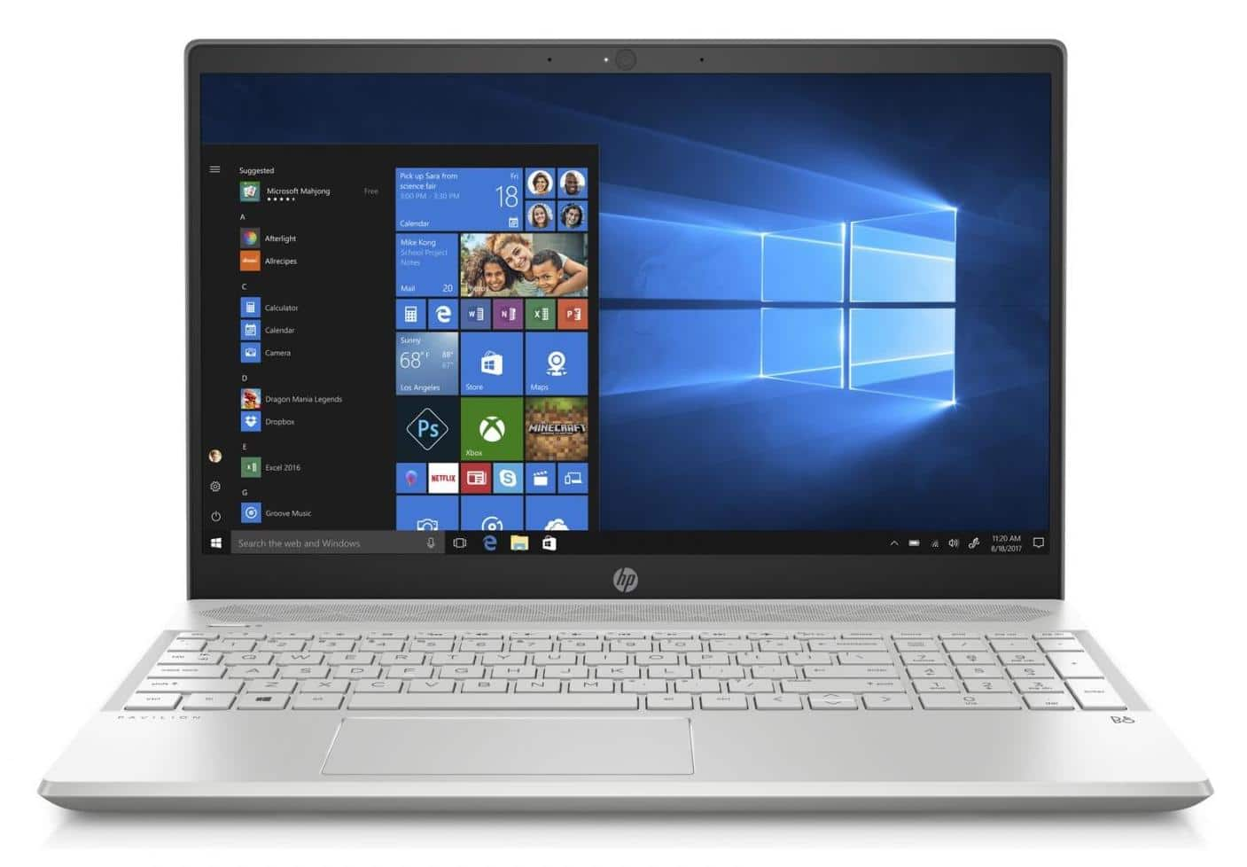 HP Pavilion 15-cw0004nf, ultrabook 15 pouces Full IPS Ryzen 5 à 599€