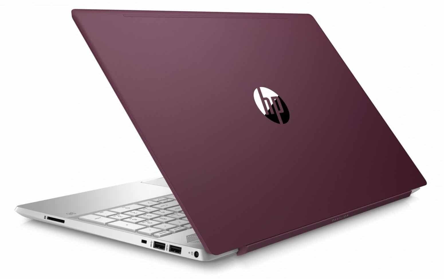 """HP Pavilion 15-cw0008nf, ultrabook 15"""" Rouge 12 Go Full Ryzen SSD (679€)"""