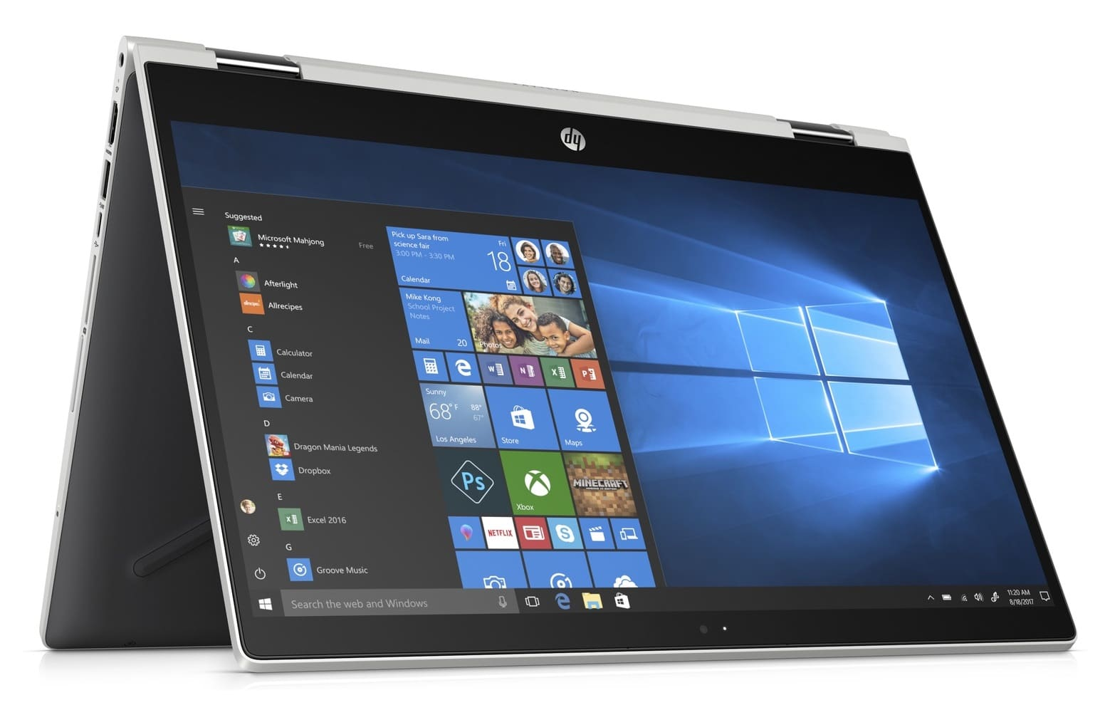 HP Pavilion x360 14-cd0002nf, 14 pouces Tablette i3-8130U (479€)