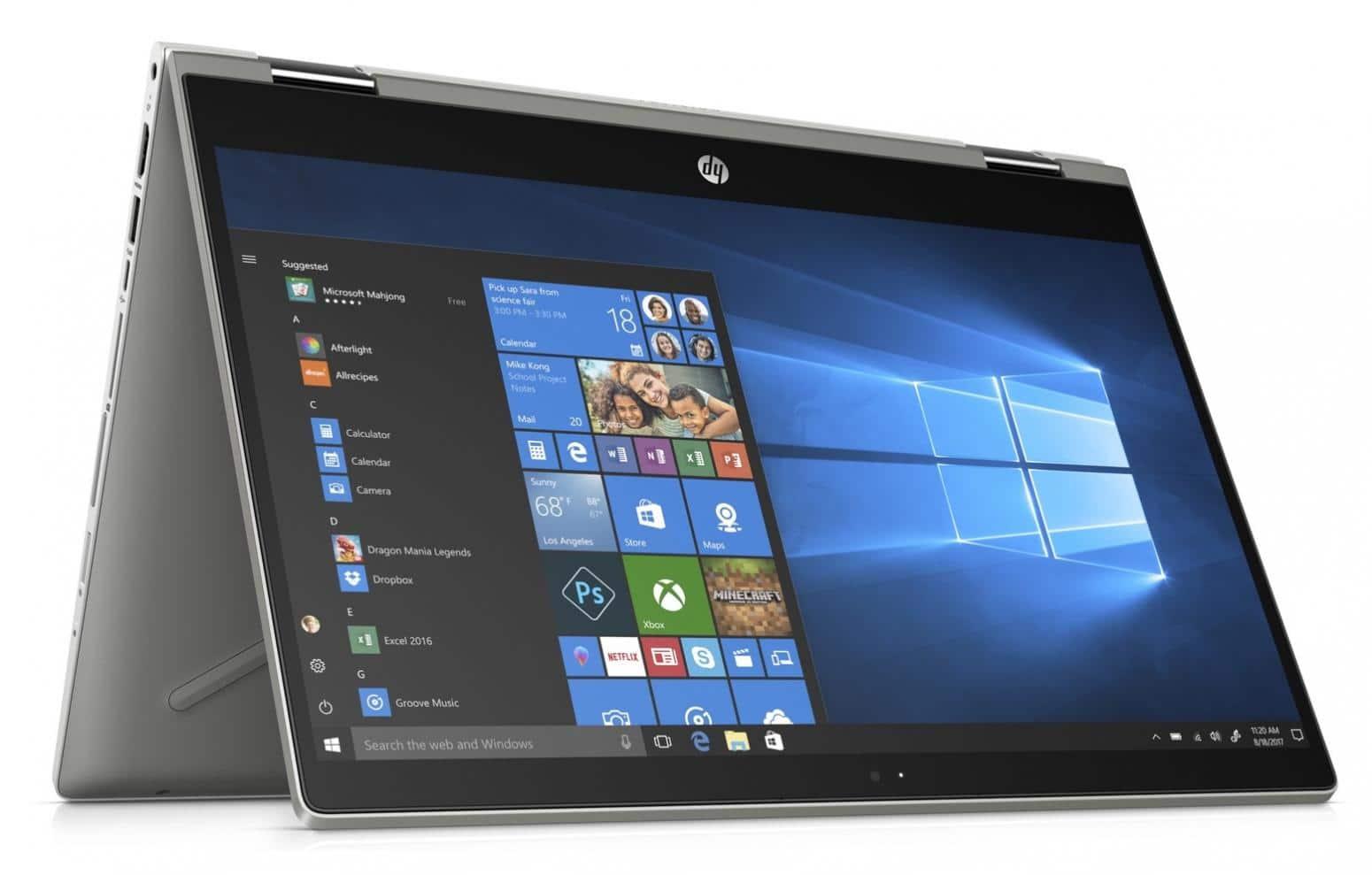 "HP Pavilion x360 14-cd0999nf, ultrabook 14"" Tablette IPS Quad i5 SSD256 à 799€"