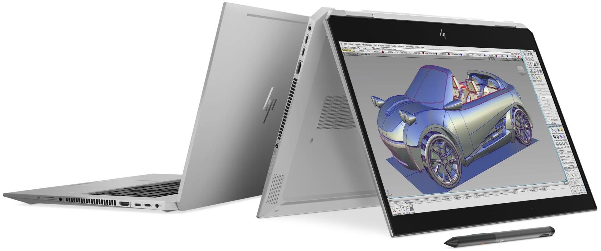 HP met à jour ses Ultrabooks Zbook avec Hexa Core i9 et Quadro P2000